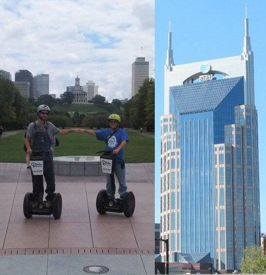 MusicCityNashville.net Feature Articles: Segway Tour of Nashville Rides and Rolls Through Music City