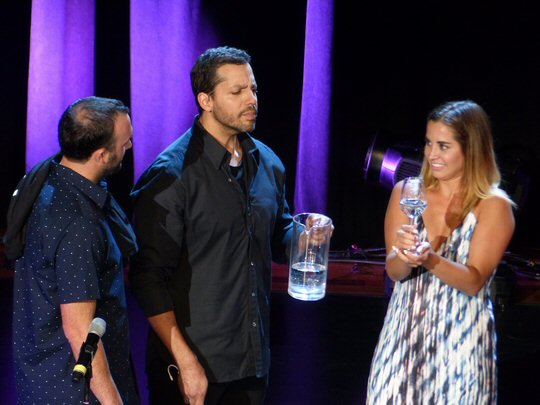 MusicCityNashville.net Feature Articles: David Blaine Live Is Magical and Much More at The Mother Church