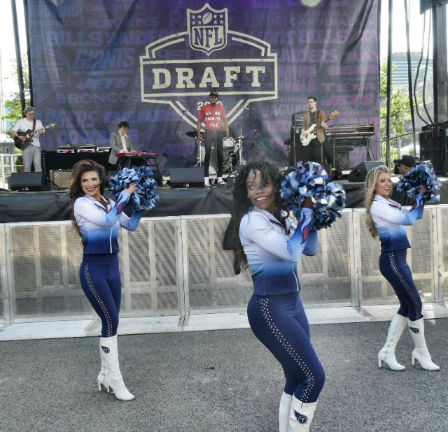 NFL Draft Puts the Super Spotlight on Nashville Performers in Music City