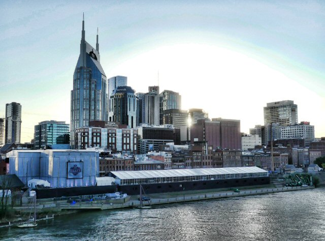 NFL Draft Offers Rare Riverside Dining Experience at Colossal Tent Built on the Cumberland