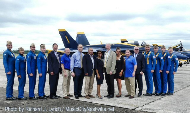 The Blue Angels Fly High On a Wing and a Prayer in Smyrna