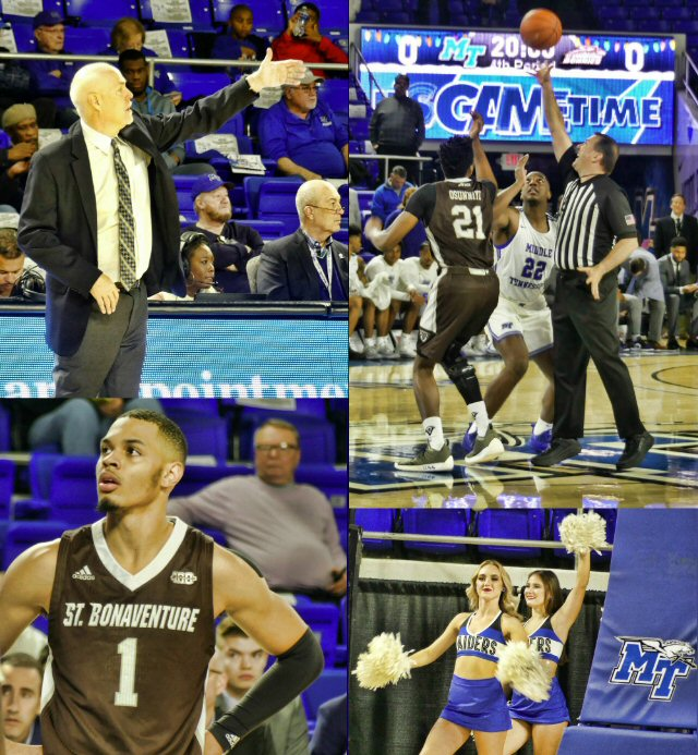Men's Basketball: MTSU vs SBU - Holiday Nailbiter in Murfreesboro